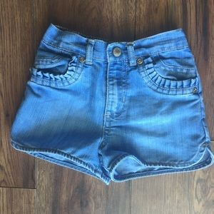 Old navy jean shorts girls size 18-24 months